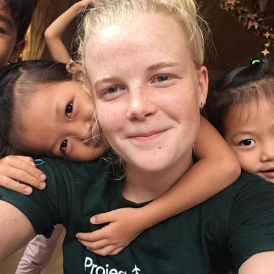 Rikke B i Cambodja